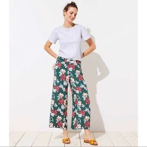 New! LOFT Tropical Fluid Pants